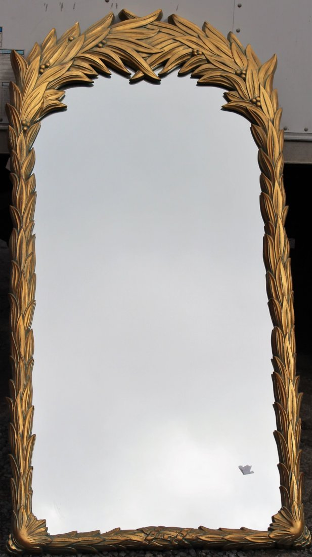 Large GOLD FRAME DESIGNER WALL MIRROR