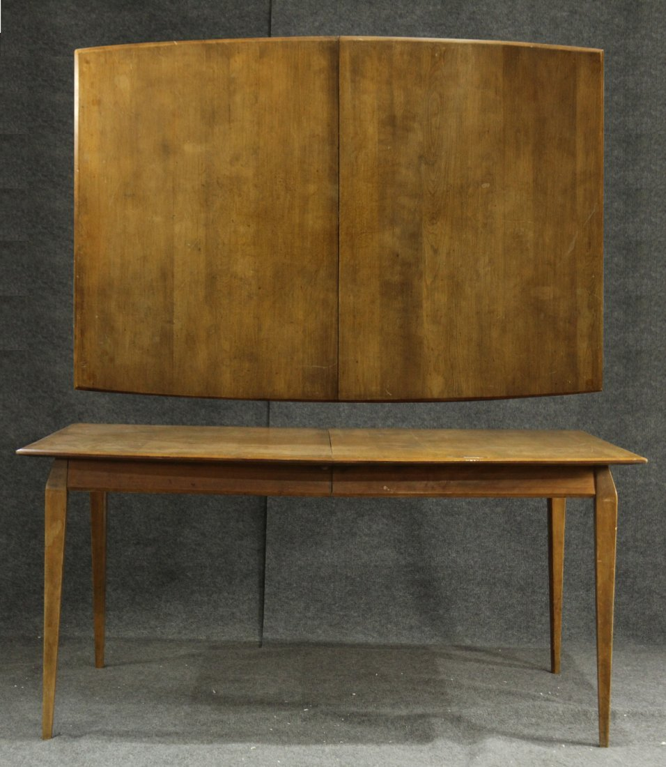 HEYWOOD WAKEFIELD teak mid-century modern dining table