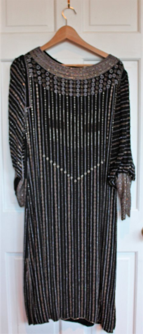 DESIGNER EVENING GOWN - ALL BEADED - E SISTER MAX