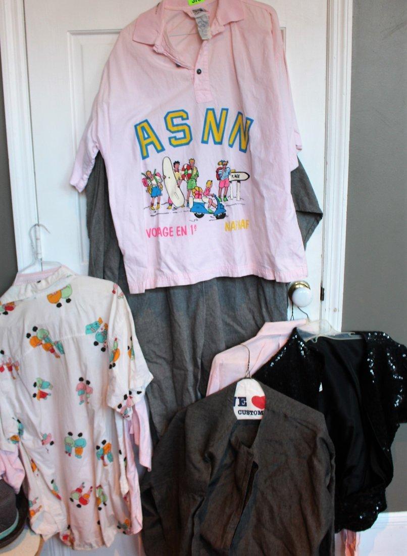 GROUP LOT  1980s FUN CLOTHING, ETC