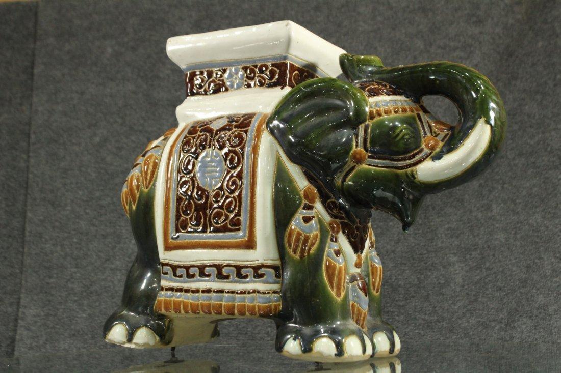 Mid-century modern porcelain elephant