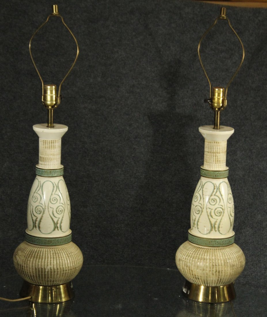 Mid century modern decorative lamps