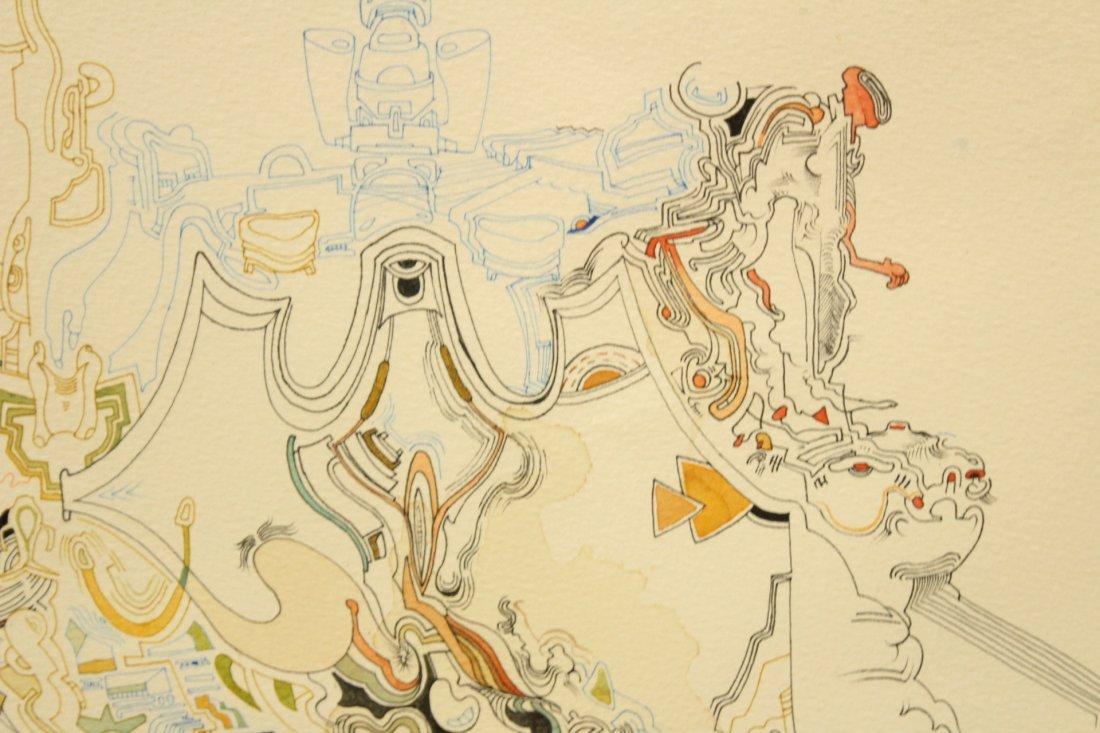 MID CENTURY POP ART ABSTRACT TITLED MIROs CORNER - 2