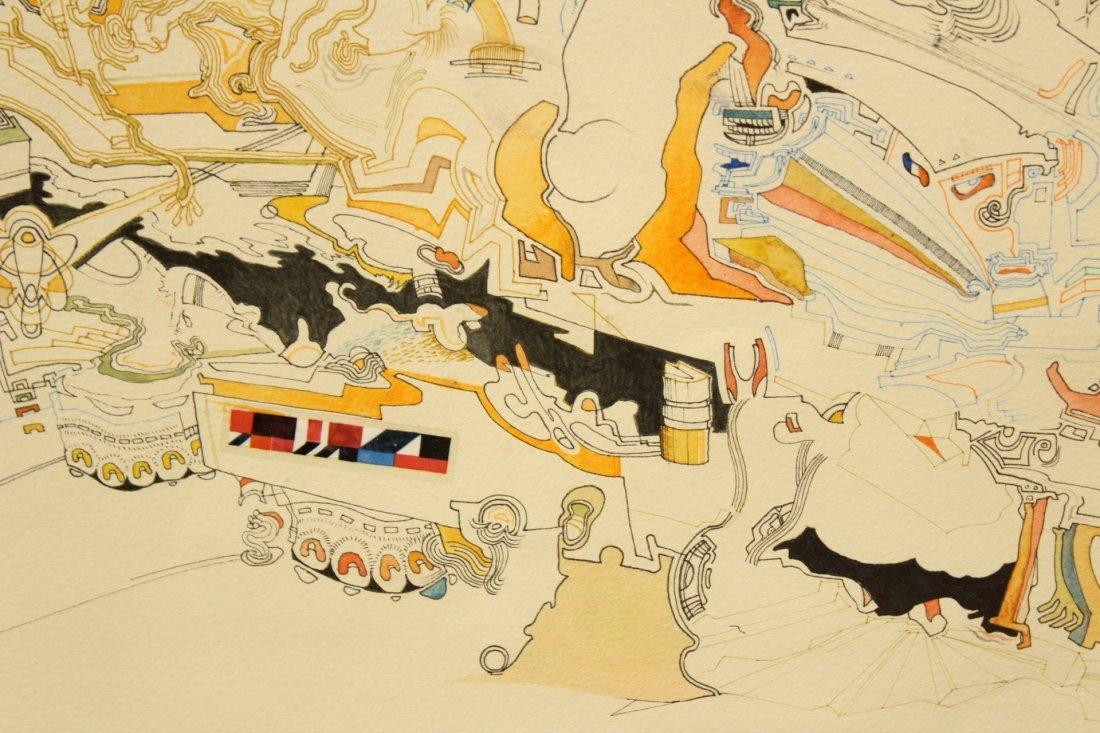 MID CENTURY POP ART ABSTRACT TITLED MIROs CORNER - 4