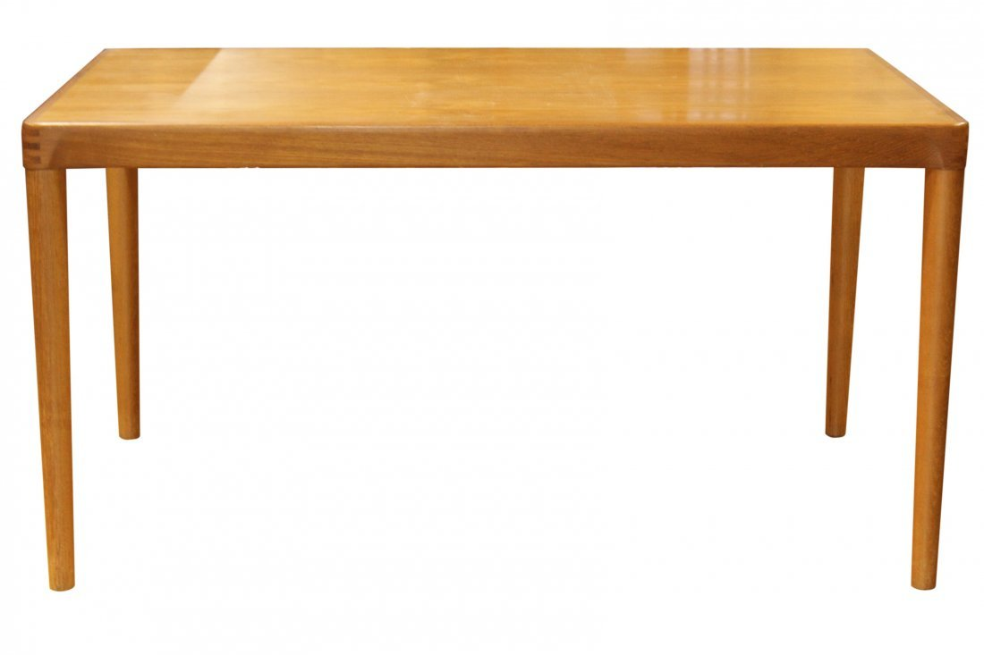 VESLE STOLE MOBELFABRIK DENMARK DINING TABLE, 2 Leaves - 5