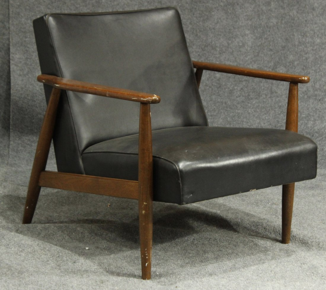 DANISH MODERN TEAK LOUNGE ARM CHAIR