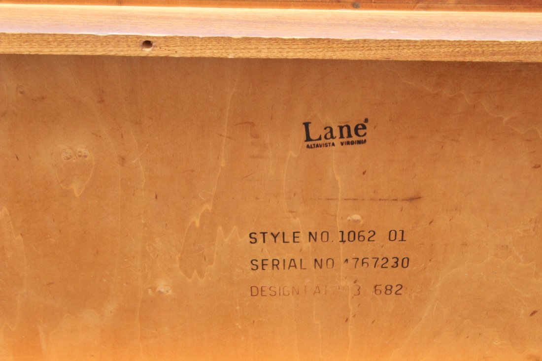LANE Mid-century Modern Teak RECTANGULAR COFFEE TABLE - 7