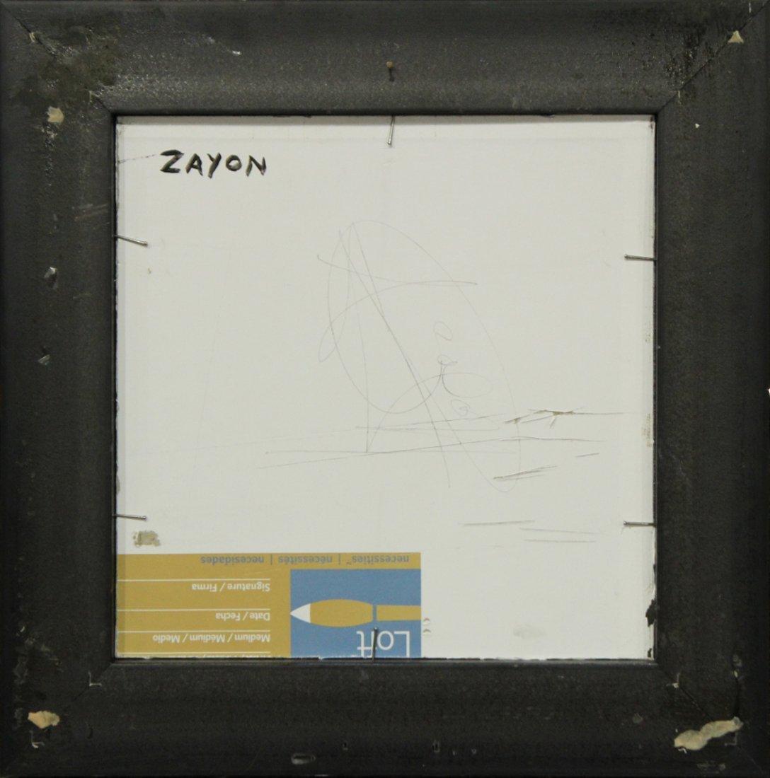 SEYMOUR ZAYON Mid Century Modern ABSTRACT FIGURE - 3