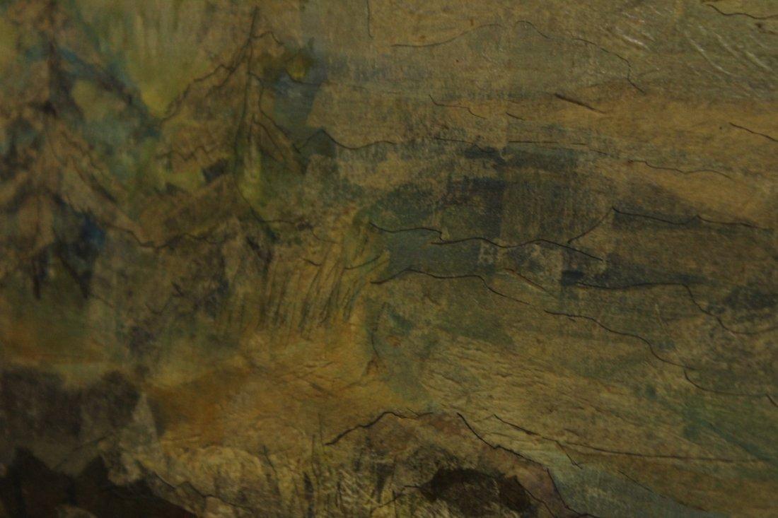 Helen St Clair  (born 1931) Oil IMPRESSIONISM LANDSCAPE - 2