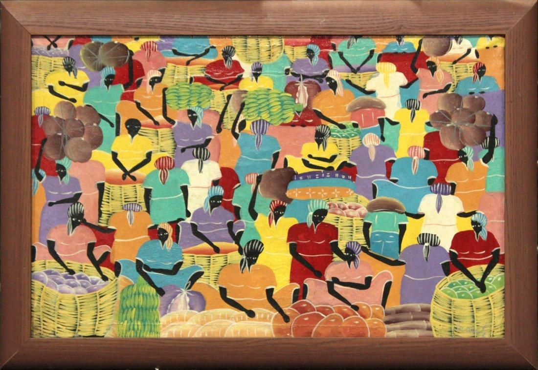 MATHIEU FRANTZ, Listed Haiti Artist HAITIAN FIGURES