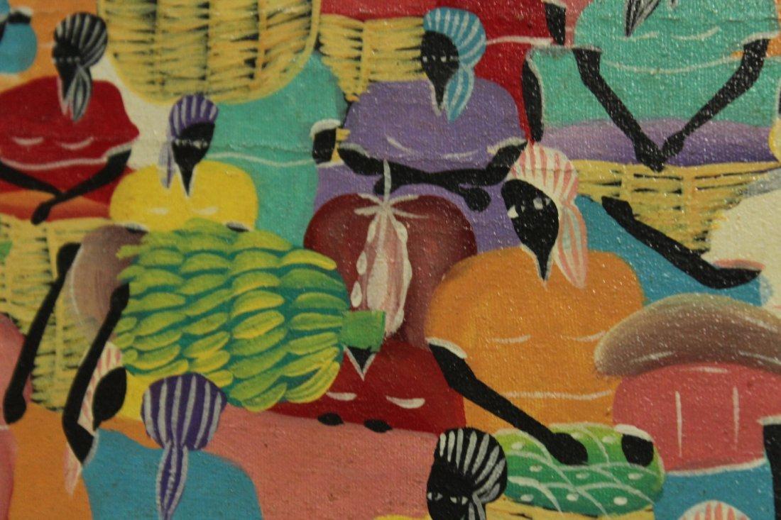 MATHIEU FRANTZ, Listed Haiti Artist HAITIAN FIGURES - 3