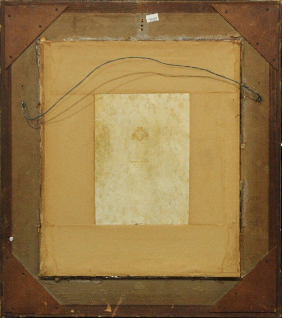 ROSENTHAL PORCELAIN PLAQUE After HANS HALS, Framed - 3
