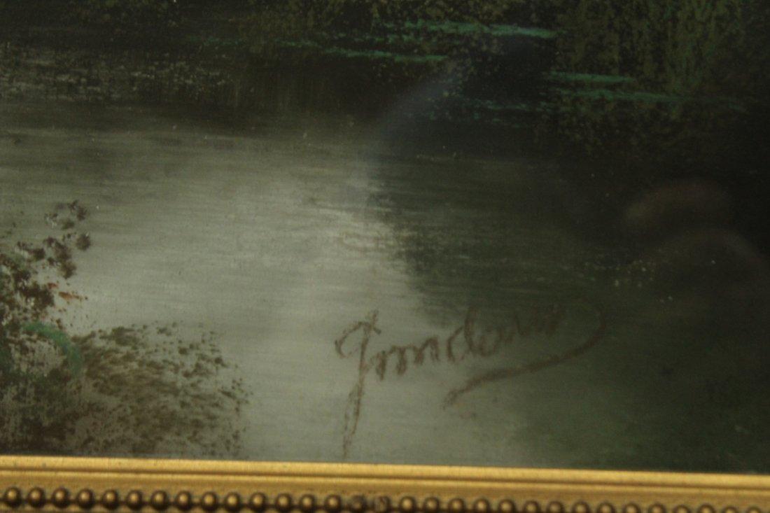 Circa 1920 FINE QUALITY PASTEL LANDSCAPE Artist Signed - 2