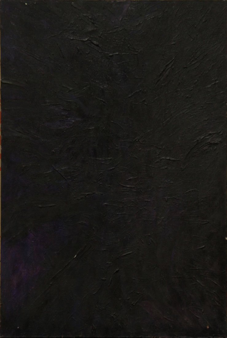 MID CENTURY MODERN ABSTRACT OIL ON CANVAS - QUALITY