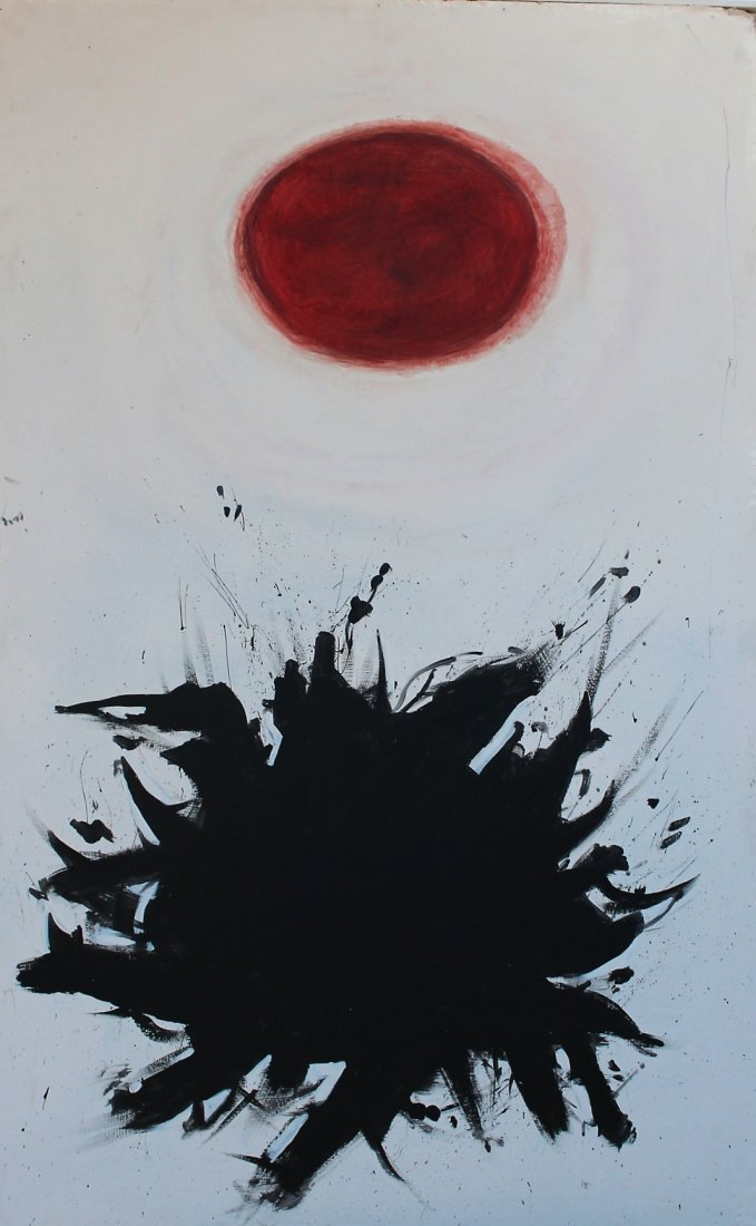 Adolph Gottlieb  (1903 - 1974) attributed ABSTRACT OIL