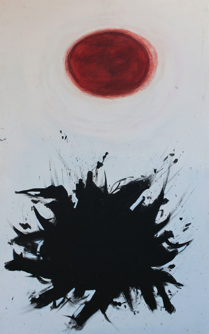Adolph Gottlieb  (1903 - 1974) attributed ABSTRACT OIL - 2