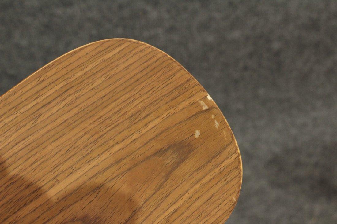 7 Mid-century modern style industrial adjustable stools - 9