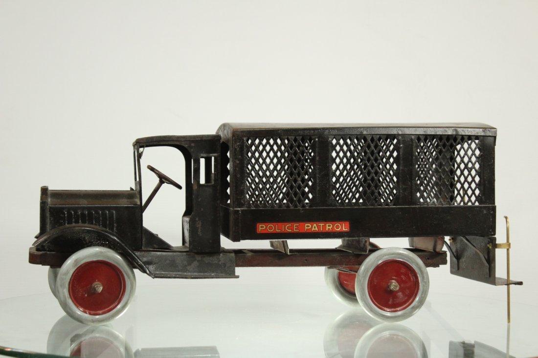 Keystone Antique Toy Truck Packard Model Police Patrol