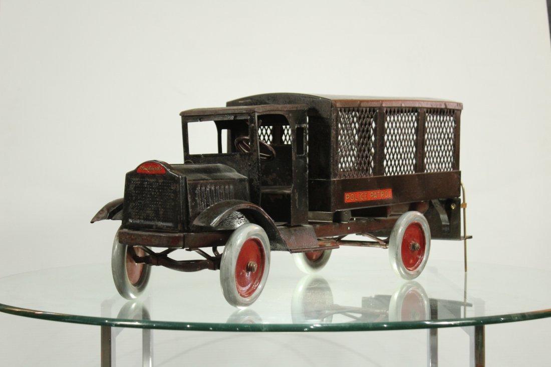 Keystone Antique Toy Truck Packard Model Police Patrol - 2