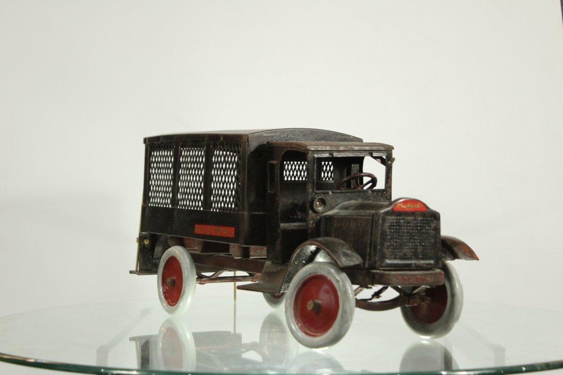 Keystone Antique Toy Truck Packard Model Police Patrol - 3