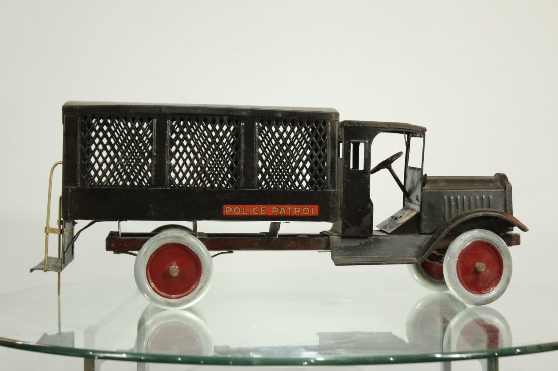 Keystone Antique Toy Truck Packard Model Police Patrol - 4