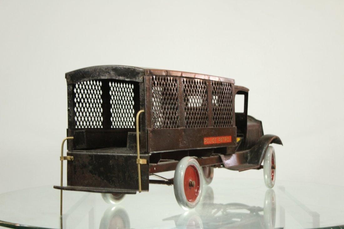 Keystone Antique Toy Truck Packard Model Police Patrol - 5