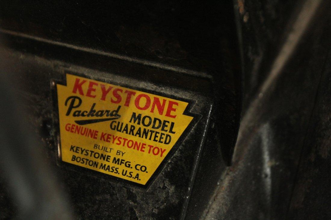 Keystone Antique Toy Truck Packard Model Police Patrol - 7