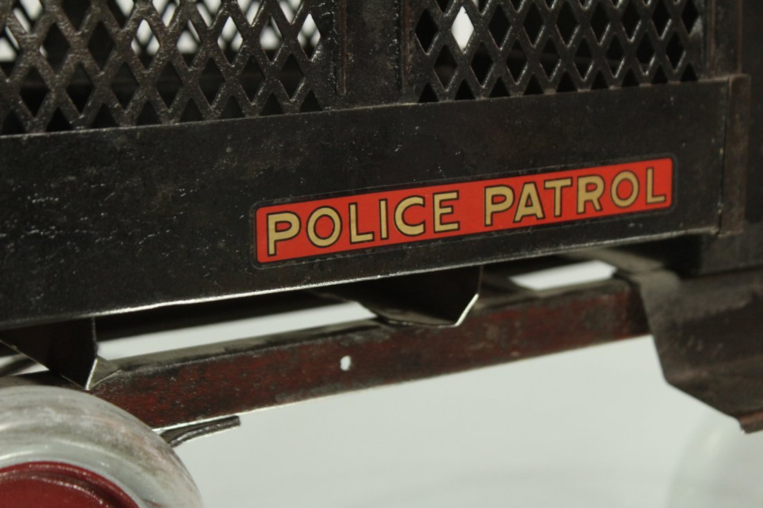 Keystone Antique Toy Truck Packard Model Police Patrol - 8