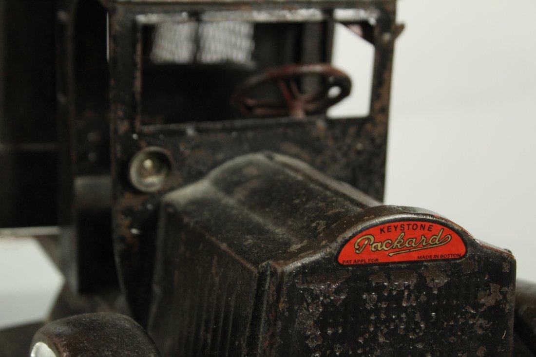 Keystone Antique Toy Truck Packard Model Police Patrol - 9
