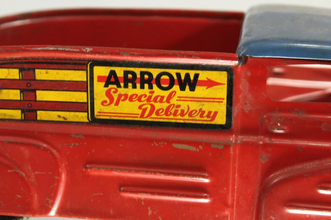 Antique PRESSED STEEL TRUCK ARROW SPECIAL DELIVERY - 2