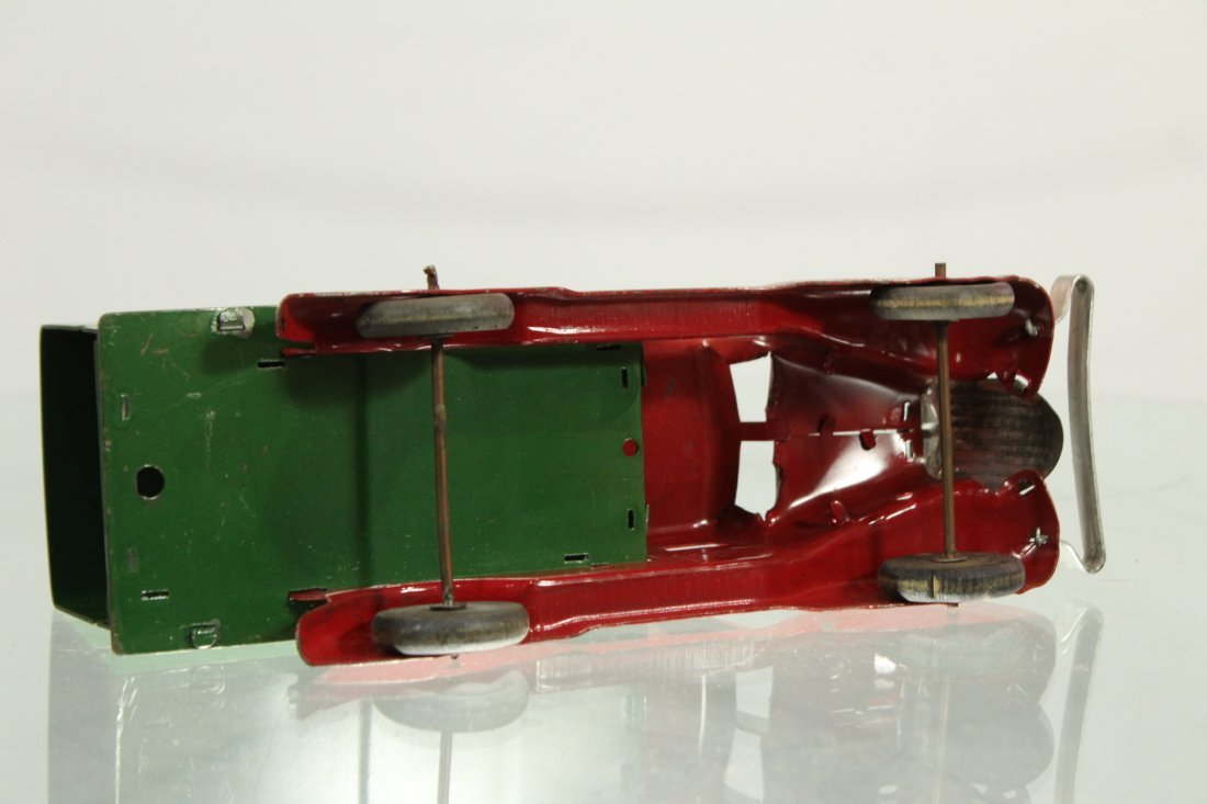 Antique PRESSED STEEL TRUCK DELUXE DELIVERY - 5