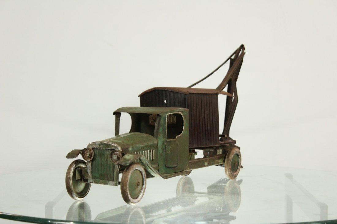 Antique PRESSED STEEL TRUCK EXCAVATOR - 2