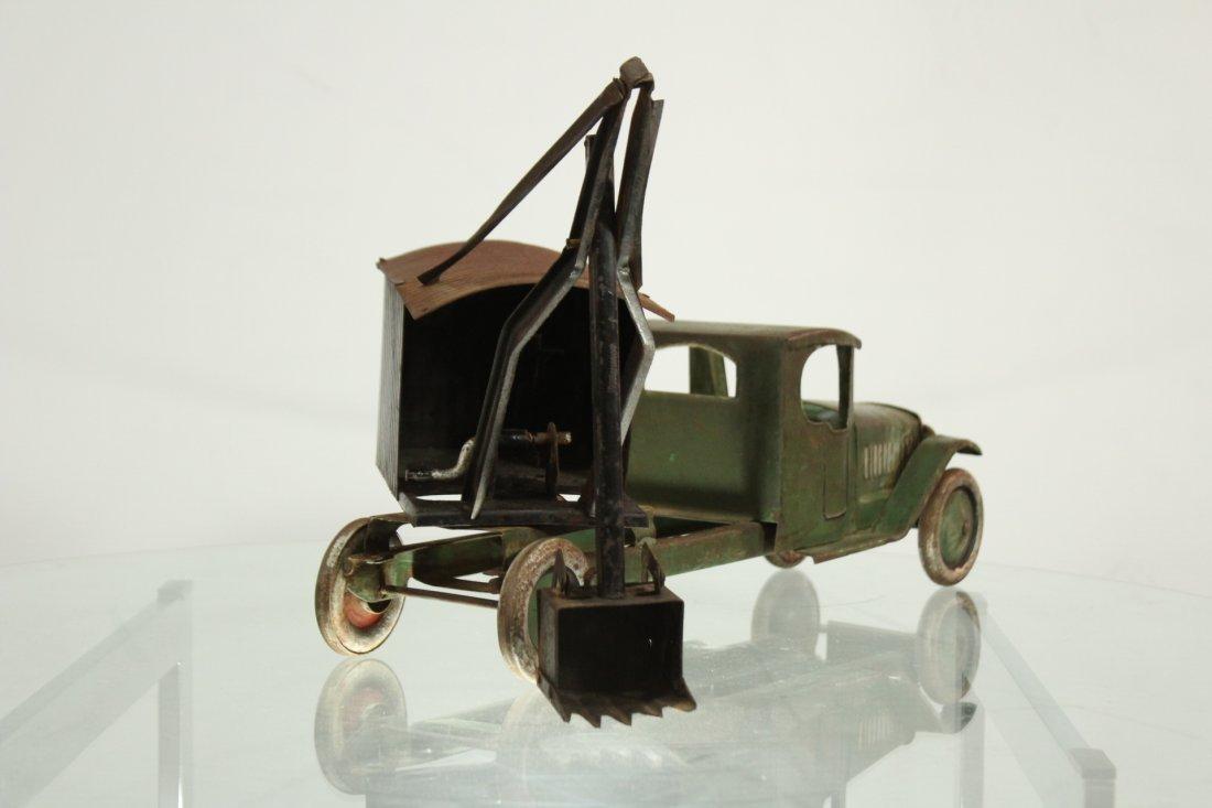 Antique PRESSED STEEL TRUCK EXCAVATOR - 4