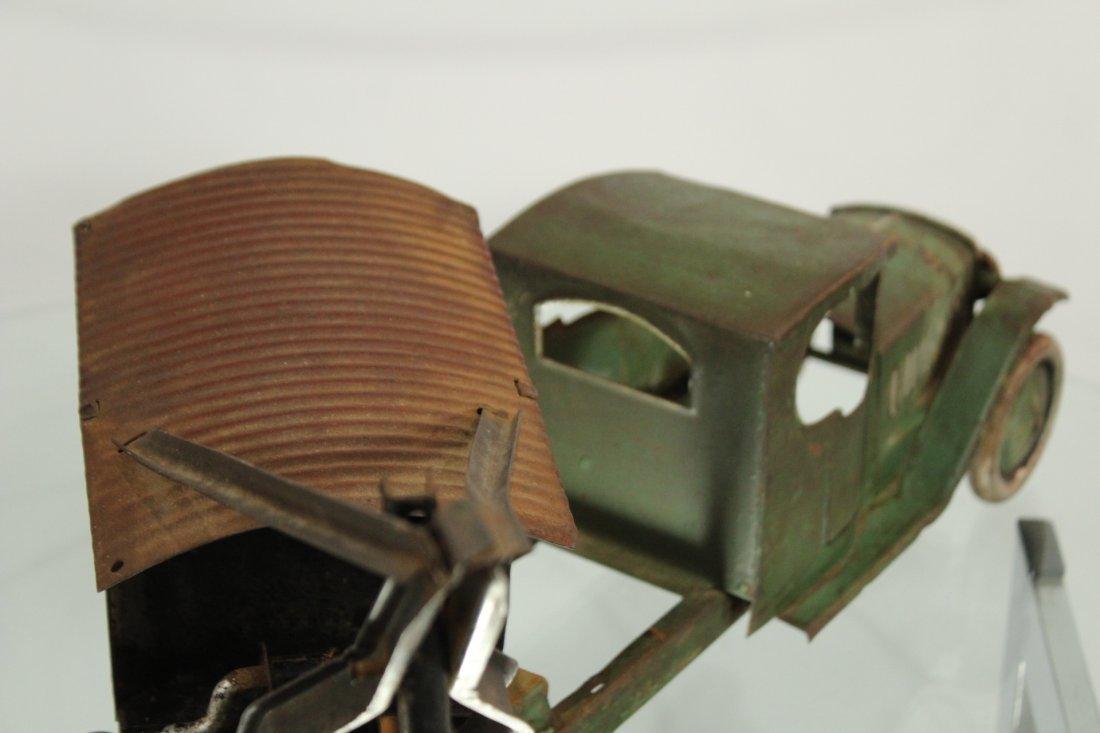 Antique PRESSED STEEL TRUCK EXCAVATOR - 5
