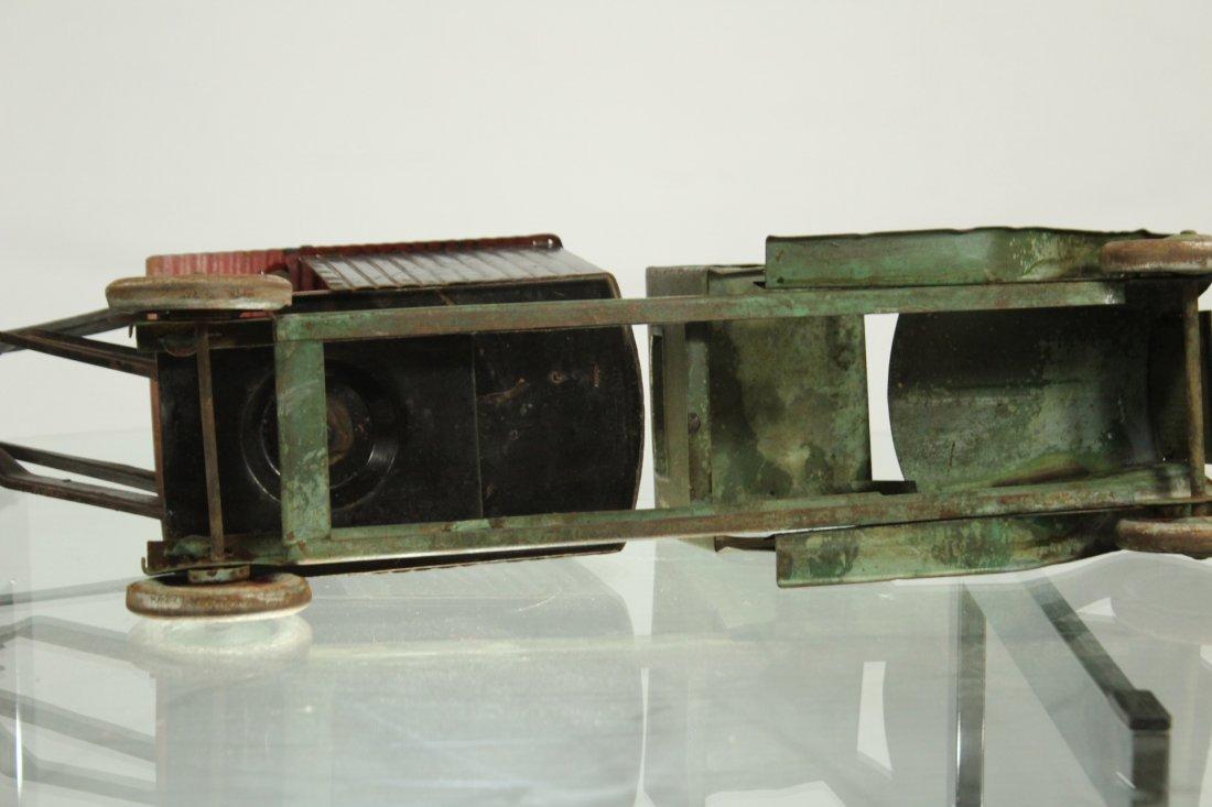 Antique PRESSED STEEL TRUCK EXCAVATOR - 6