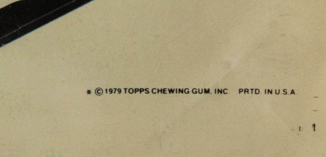 1979 TOPPS CHEWING GUM UN-CUT SHEET GARBAGE PAIL CARDS - 6