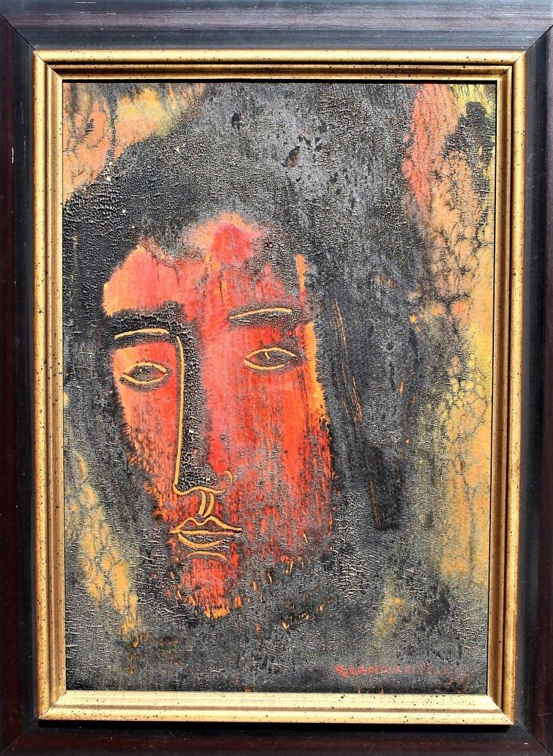 Giandante X  (1900 - 1984) Italy Mid Century PORTRAIT