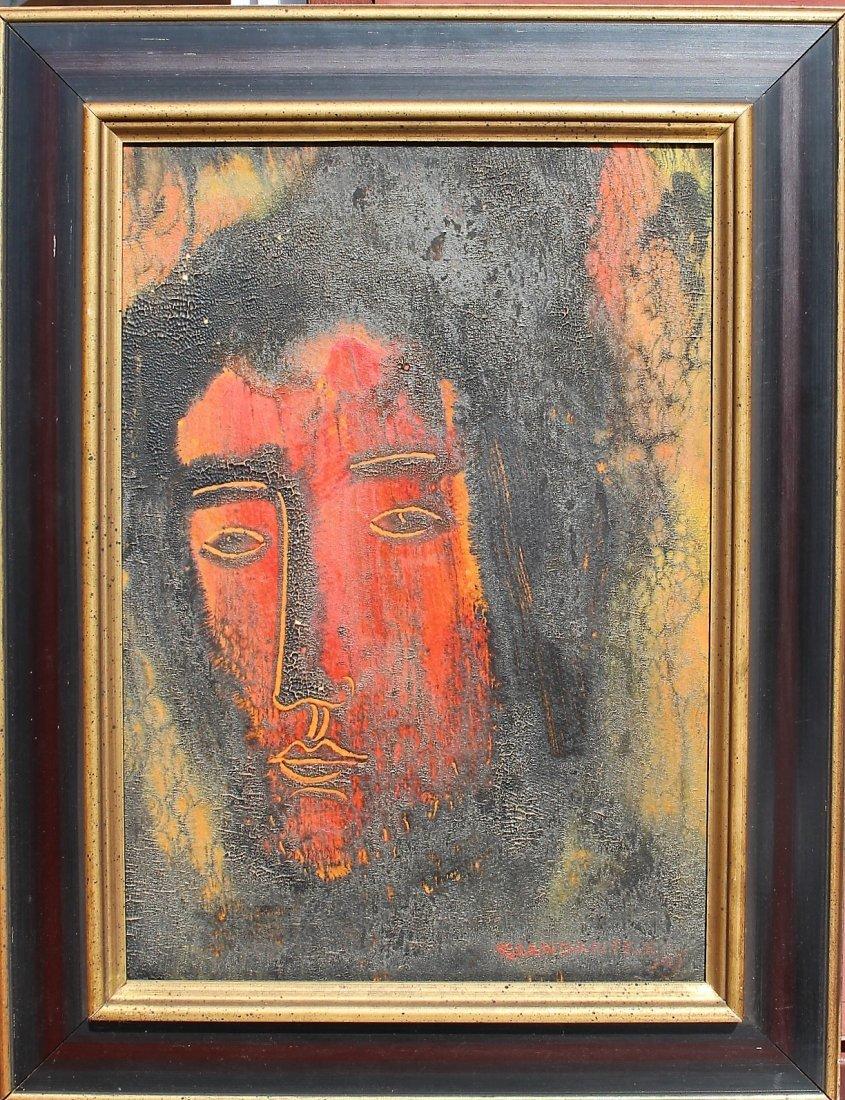 Giandante X  (1900 - 1984) Italy Mid Century PORTRAIT - 2
