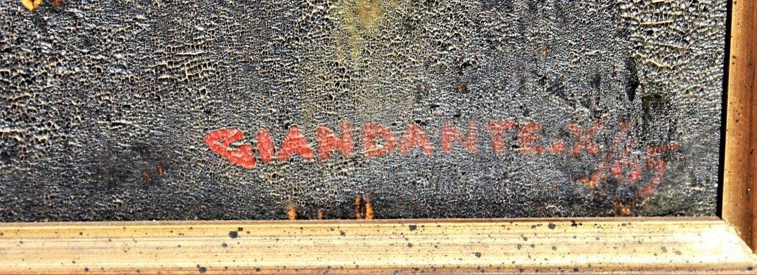 Giandante X  (1900 - 1984) Italy Mid Century PORTRAIT - 4