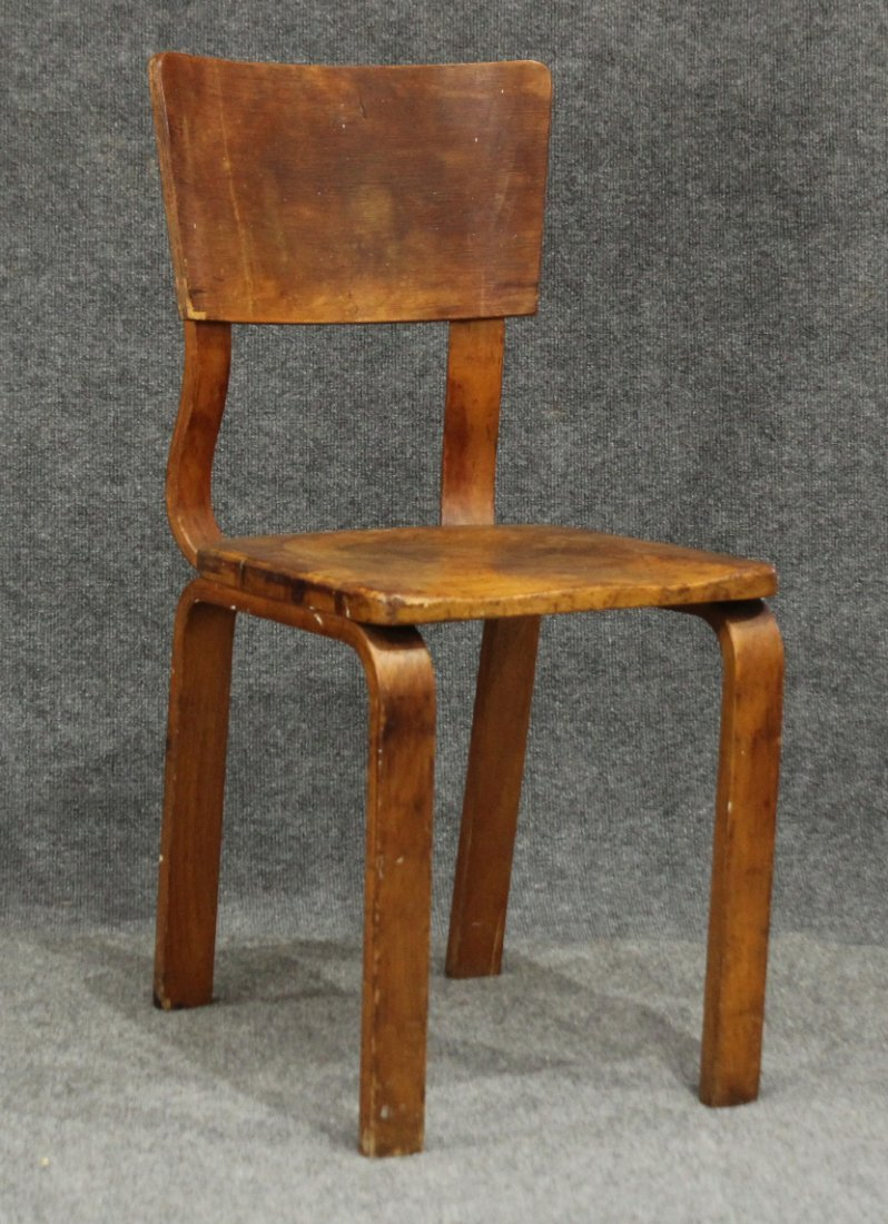 JOE ATKINSON FOR THONET BROTHERS MCM SIDE CHAIR - 2