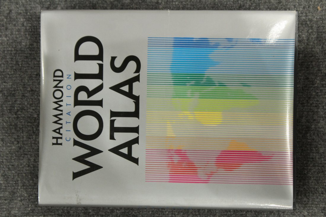 IMPERIAL WORLD GLOBE ON ATLAS BOOK BASE 16 in. Diameter - 6