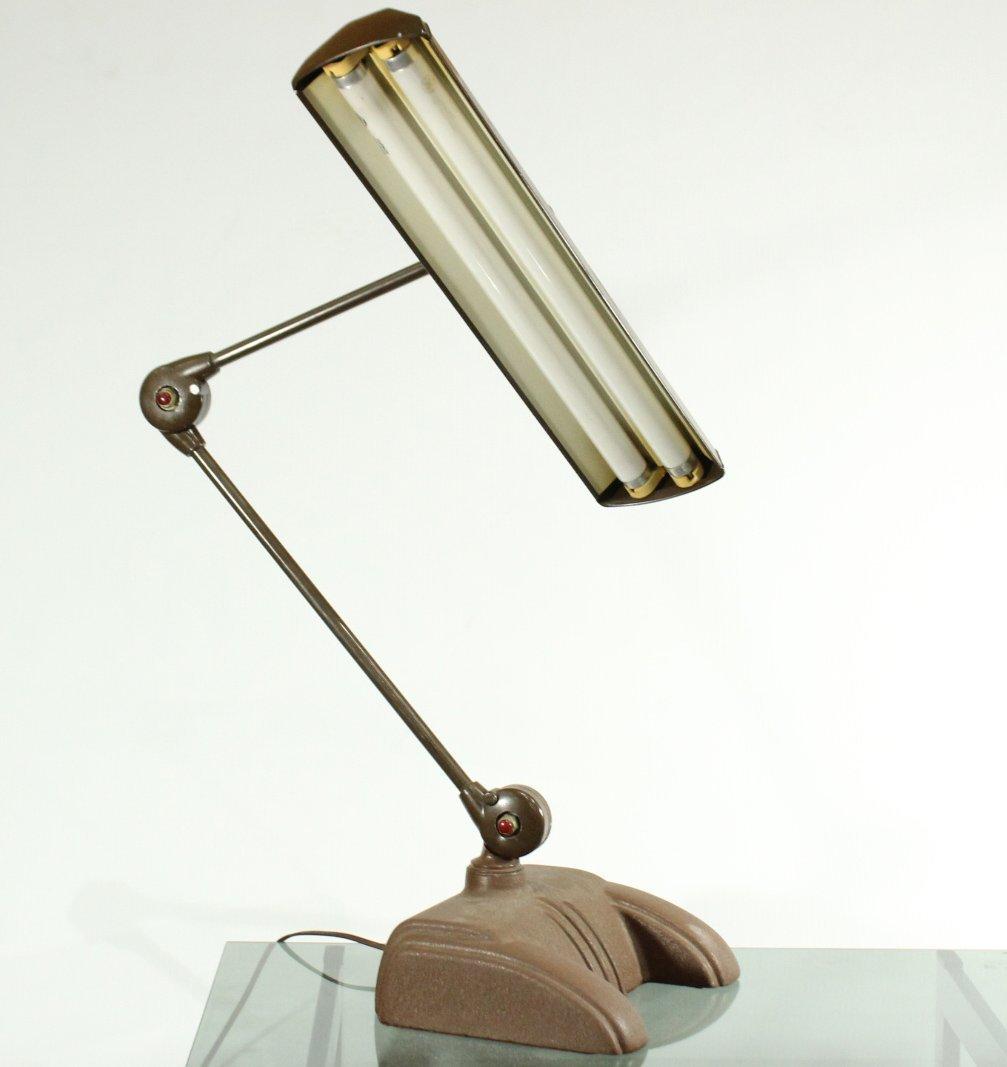 MID CENTURY METAL FULL ADJUSTABLE ARCHITECTS LAMP