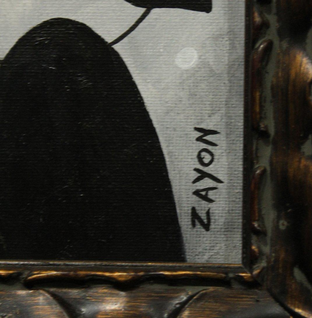 SEYMOUR ZAYON Mid Century Modern ABSTRACT FIGURES - 2