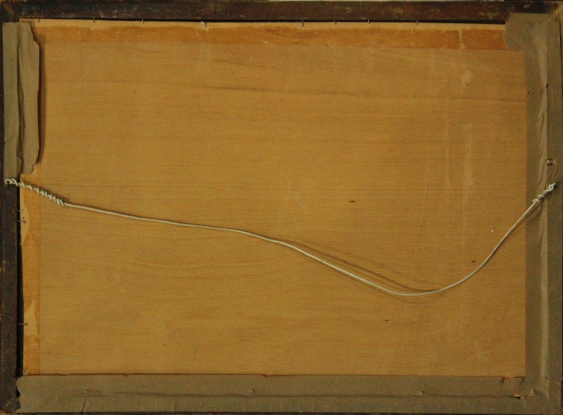 LOUISA CARSON, Watercolor, TWO WOMEN IN HOODED ATTIRE - 4