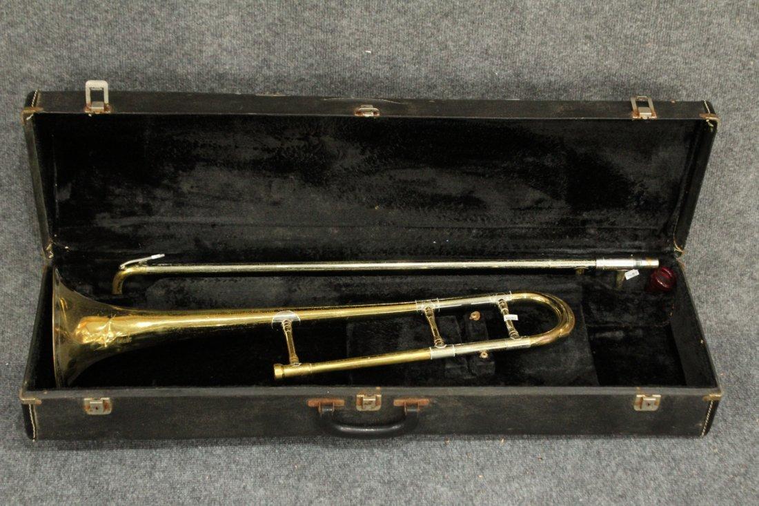 Getzen Trombone T1005 Super Deluxe tone balanced