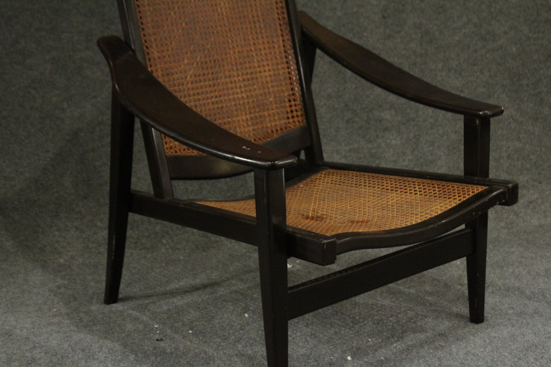 Mid-century Modern tall back lounge chairs - 3