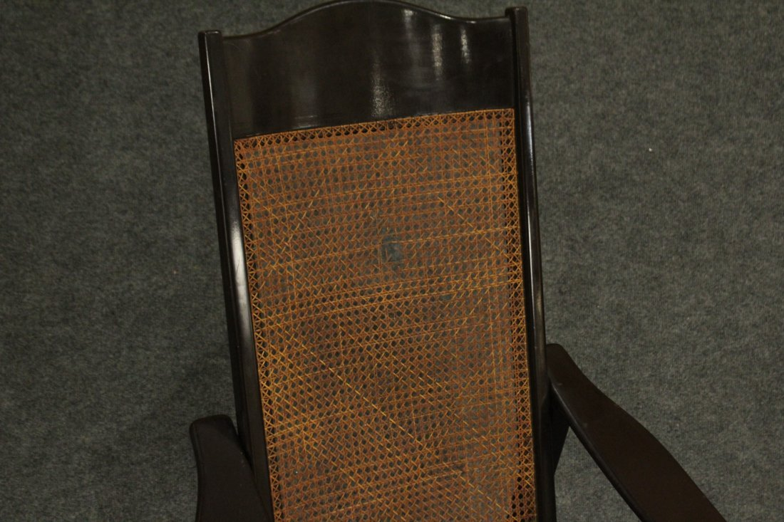 Mid-century Modern tall back lounge chairs - 5