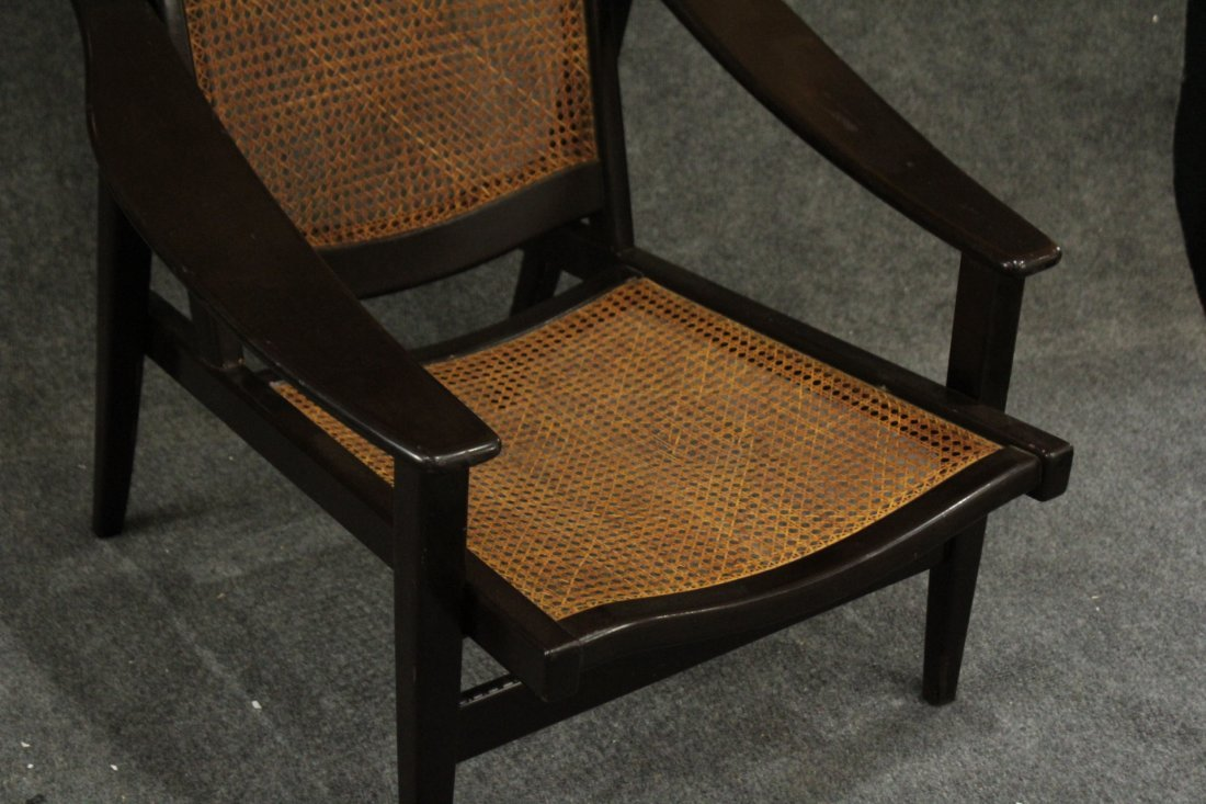Mid-century Modern tall back lounge chairs - 6