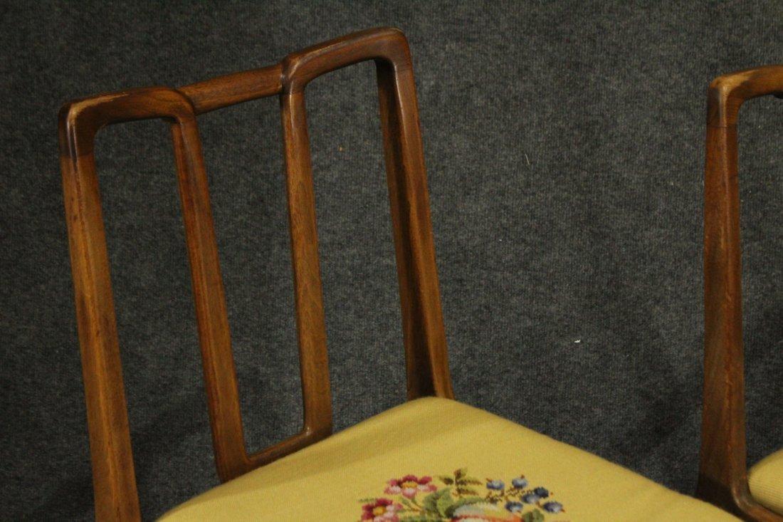 Mid-century Modern John Stuart dining arm chairs - 4