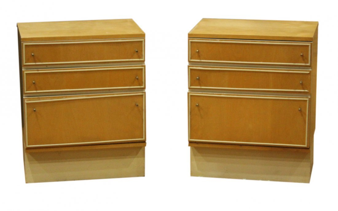 Mid-century Modern dresser set with end tables - 5
